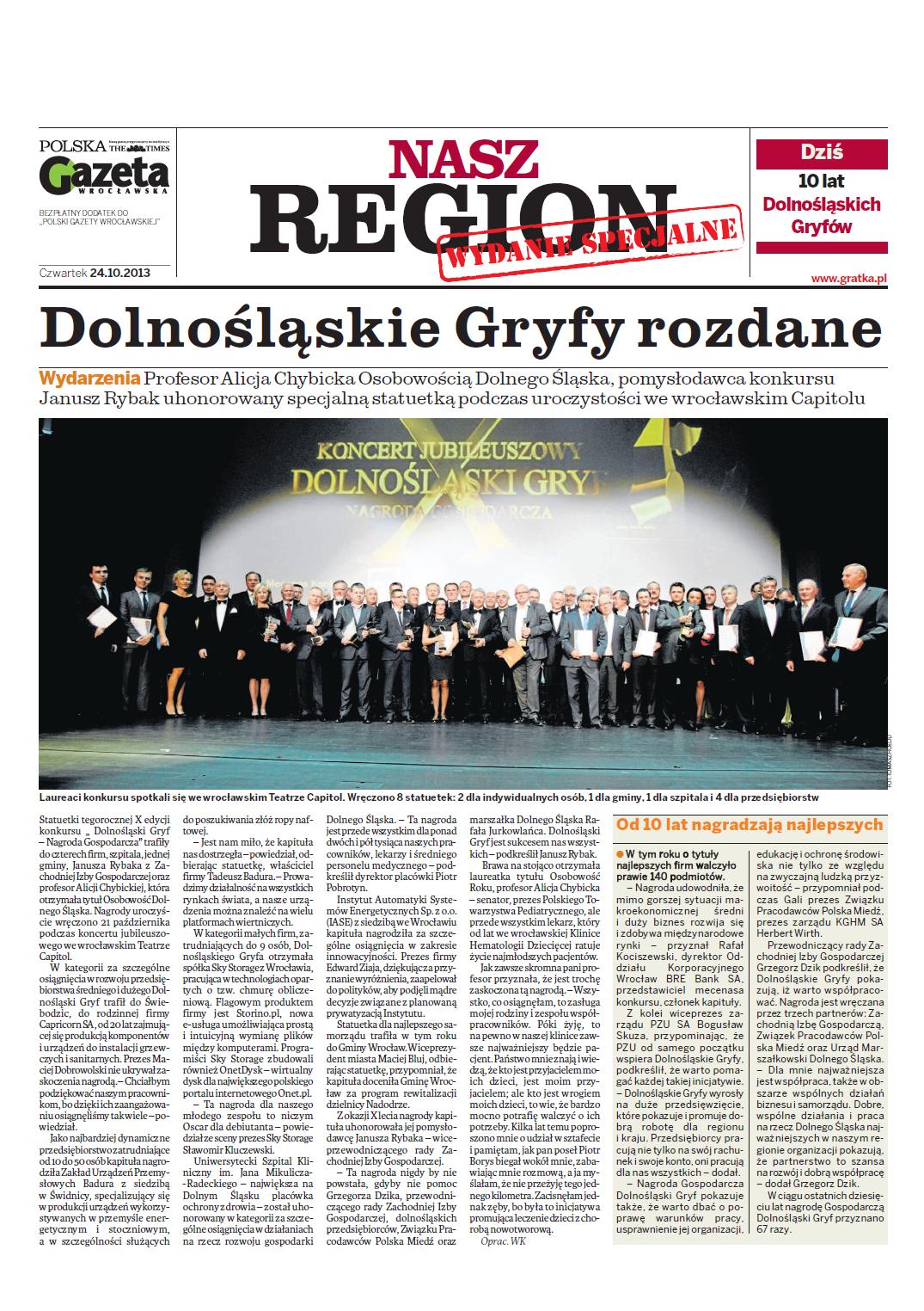 Nasz Region - wydanie specjalne