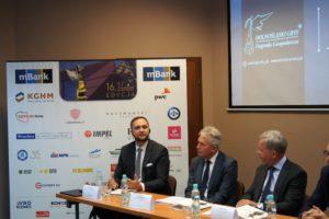 """Konferencja prasowa 16. edycja konkursu """"Dolnośląski Gryf – Nagroda Gospodarcza"""""""